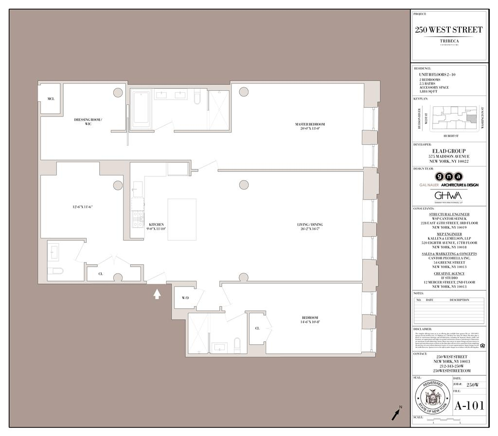 StreetEasy: 250 West St. #3H - Condo Apartment Sale in Tribeca, Manhattan