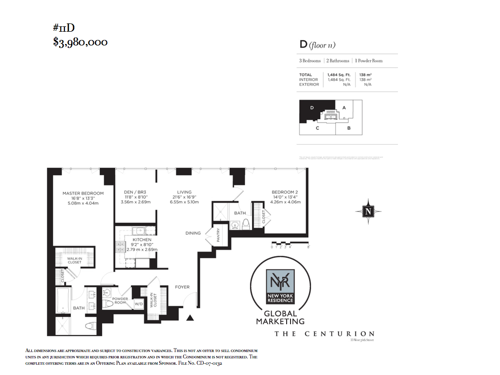 StreetEasy: 33 West 56th St. #11D - Condo Apartment Sale at The Centurion in Midtown, Manhattan