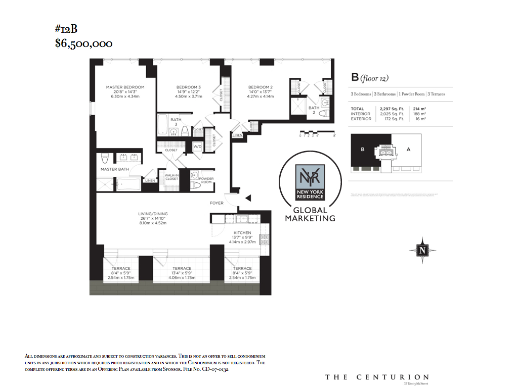 StreetEasy: 33 West 56th St. #12B - Condo Apartment Sale at The Centurion in Midtown, Manhattan