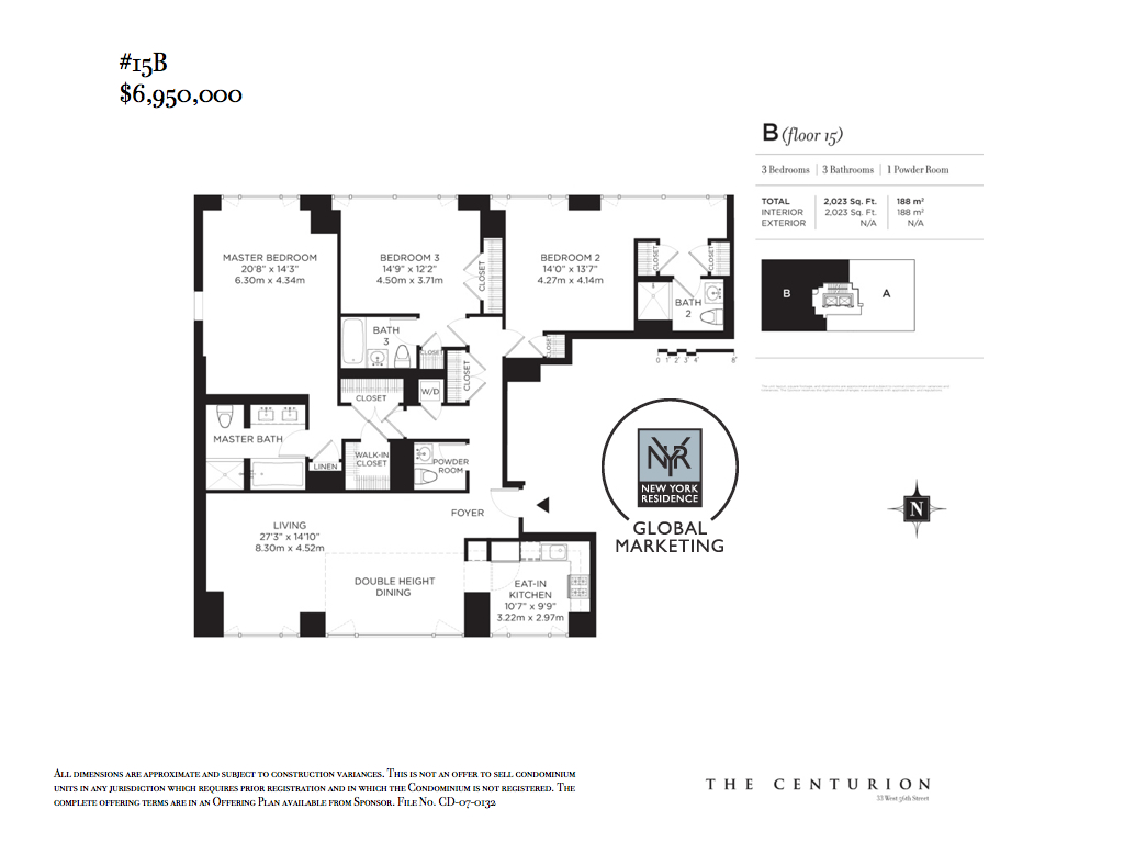 StreetEasy: 33 West 56th St. #15B - Condo Apartment Sale at The Centurion in Midtown, Manhattan