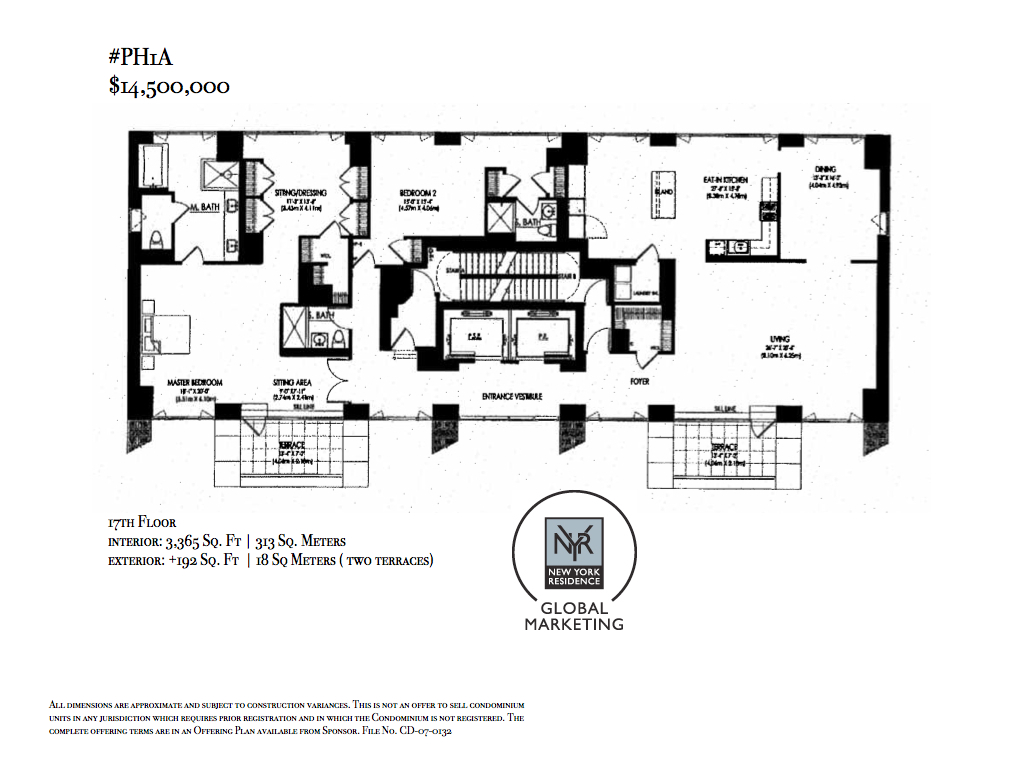 StreetEasy: 33 West 56th St. #PH1A - Condo Apartment Sale at The Centurion in Midtown, Manhattan