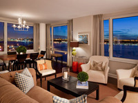 StreetEasy: 80 Riverside Blvd. #7M - Condo Apartment Sale at The Rushmore in Lincoln Square, Manhattan