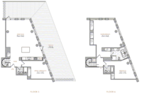 floorplan for 101 Warren Street #5A