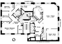 floorplan for 90 West Broadway