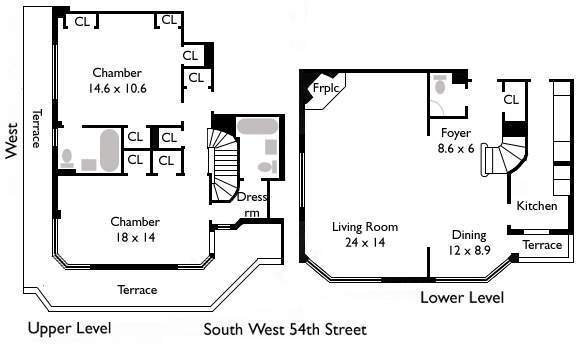 StreetEasy: 25 West 54th St. #1213 - Co-op Apartment Sale in Midtown, Manhattan