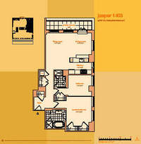floorplan for 114 East 32nd Street #1403
