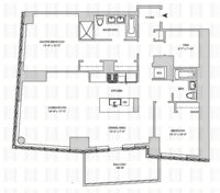 floorplan for 164 Kent Avenue #19A