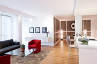 StreetEasy: 1 Grand Army Plaza #4B - Condo Apartment Sale at Richard Meier on Prospect Park in Prospect Heights, Brooklyn
