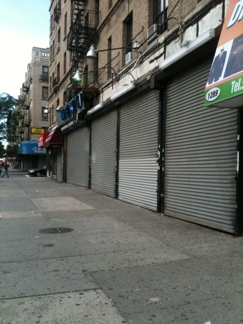 Huge Retail Space in Washington Heights