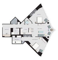 floorplan for 77 Hudson Street #E3