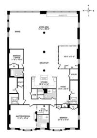 floorplan for 31 West 21st Street #9FLR