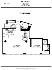 floorplan for 21 Astor Place #7F