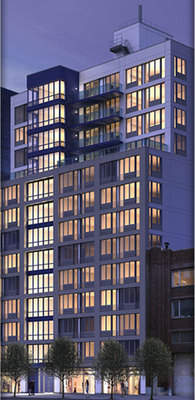 The Indigo Condominium at 125 West 21st Street in Chelsea