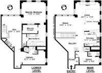 floorplan for 448 West 37th Street #12G