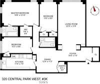 StreetEasy: 320 Central Park West #3K - Co-op Apartment Sale at The Ardsley in Upper West Side, Manhattan