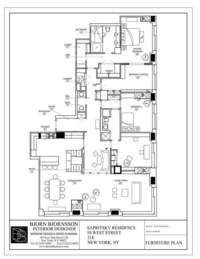floorplan for 10 West Street #21E