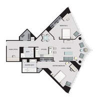 floorplan for 77 Hudson Street #F3