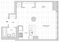 floorplan for 164 Kent Avenue #4R