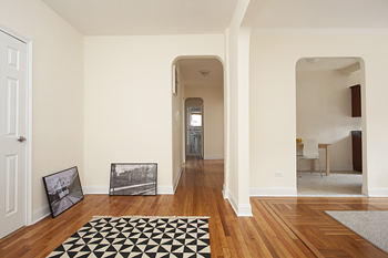 Huge Prewar 2 BR, 2 bath; Renovated!