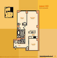 floorplan for 114 East 32nd Street #202