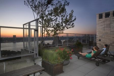 Enormous Conv 2 Bed/2 Bath in Upper West Side w/ Terrace, Attended Garage, Sundeck & Bicycle Room - No Fee