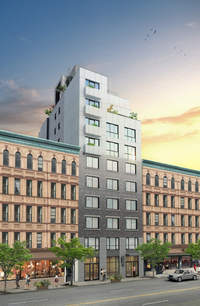 Parc Standard at 2101 8th Avenue in Central Harlem
