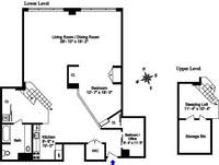 floorplan for 448 West 37th Street #9B