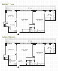 floorplan for 420 East 72nd Street #19D