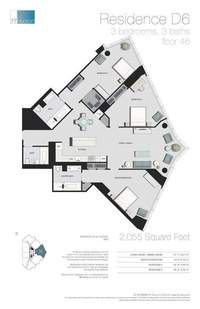 floorplan for 77 - Hudson Street #4604