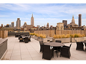 HUGE New Construction 1782sf 2-bed, 3-bath w/ PRIVATE TERRACE @ 100 West 18th Street