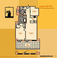 floorplan for 114 East 32nd Street #405