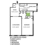 StreetEasy: 811 Cortelyou Rd. #3B - Co-op Apartment Sale in Kensington, Brooklyn