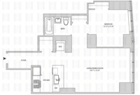 floorplan for 164 Kent Avenue #28Y