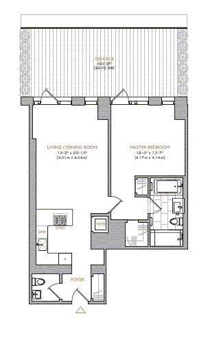 StreetEasy: 101 Warren St. #540 - Condo Apartment Sale in Tribeca, Manhattan