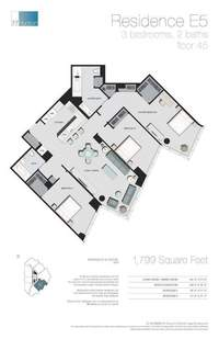 floorplan for 77 - Hudson Street #4505