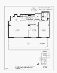 floorplan for 25 Murray Street #7F