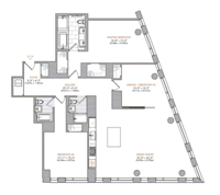 floorplan for 101 Warren Street #1560