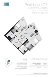 floorplan for 77 - Hudson Street #4703