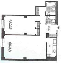 floorplan for 188 East 70th Street #7D