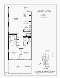 floorplan for 25 Murray Street #7B