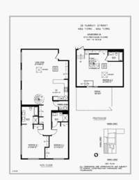 floorplan for 25 Murray Street #PH10B