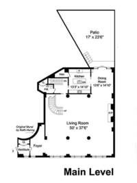 floorplan for 260 West Broadway #123