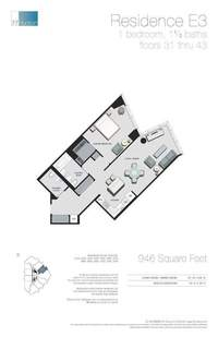 floorplan for 77 - Hudson Street #4105