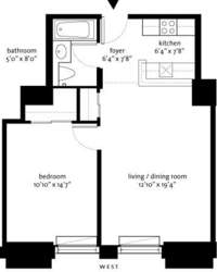 floorplan for 150 Nassau Street #7C