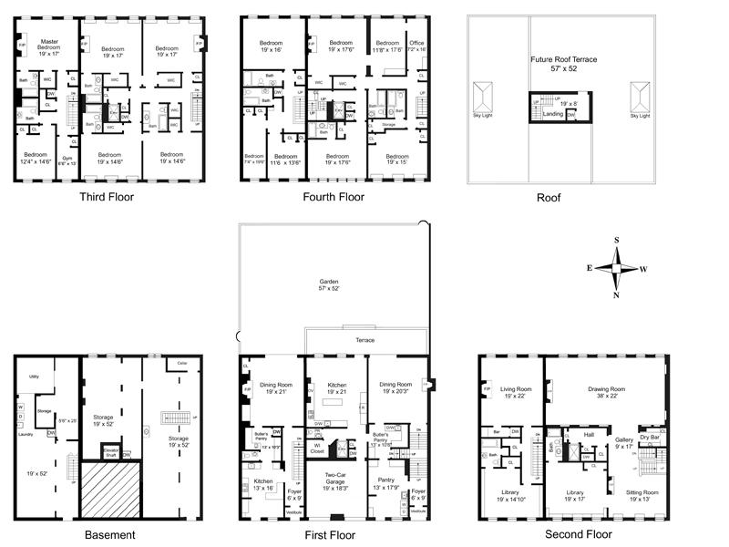 Nyc Townhouse Floor Plans: 152 East 81st St. In Upper East Side, Manhattan