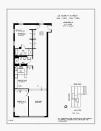 floorplan for 25 Murray Street #6H