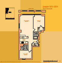 floorplan for 114 East 32nd Street #701