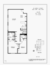 floorplan for 25 Murray Street #8B