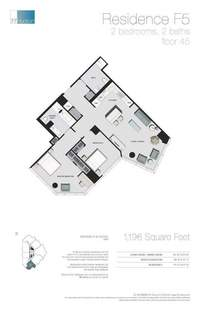 floorplan for 77 - Hudson Street #4506