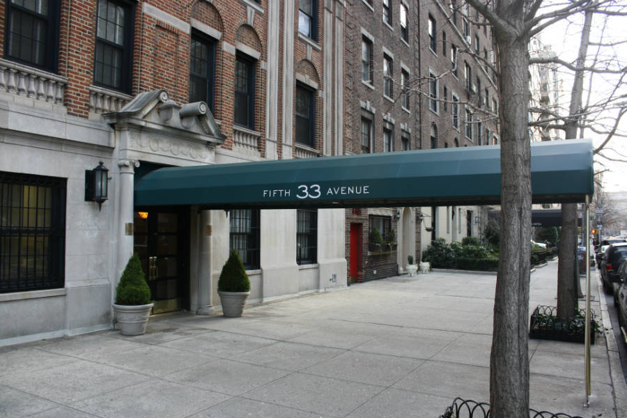 33 Fifth Avenue #B